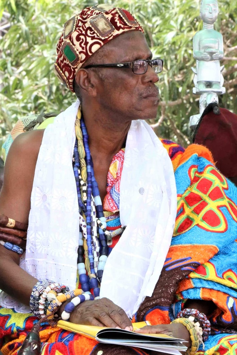 Djetse Nene Abram Kabu Akuaku III, His Imminence, the Royal Paramount Chief of the Ada State and President of the Greater Accra Regional House of Chiefs.