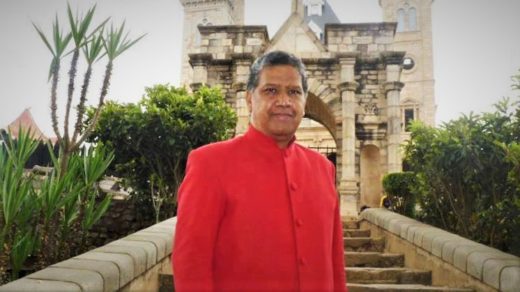 His Royal Majesty King Ndriana Rabarioelina of Madagascar, from the Elder branch of the Royal House, Head of the Royal House of Madagascar