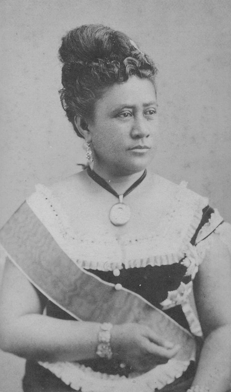 Queen Kapi'olani, Queen consort to HM King Kalakaua (Great granddaughter of Queen Kamakahelei)